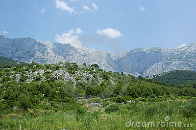 Biokovo Mountains
