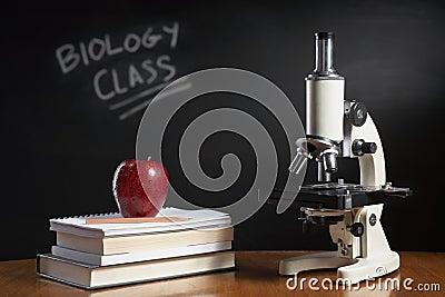 Biology class concept