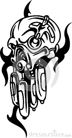 Biomechanical Designs - vector illustration