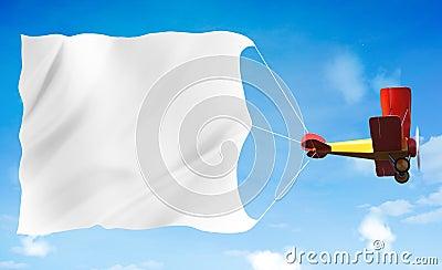 Biplane advertising