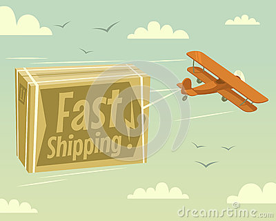 Biplane and fast shipping
