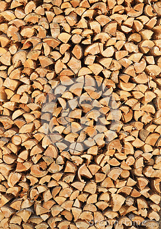 Free Birch Firewood Vertical Background Stock Images - 28108474