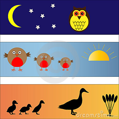 Bird Banners set