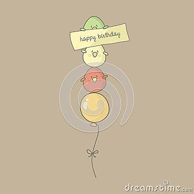 Bird Birthday Greeting Card