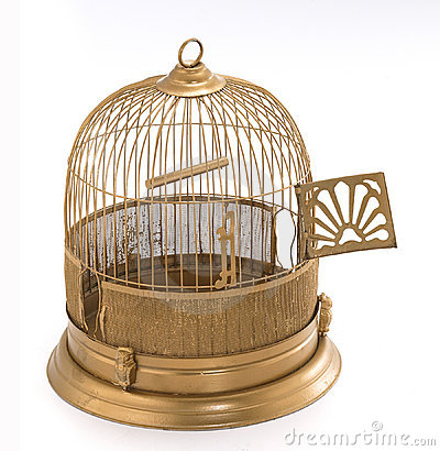 Free Bird Cage Royalty Free Stock Photography - 1283457