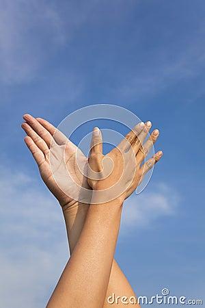 Bird hand gesture