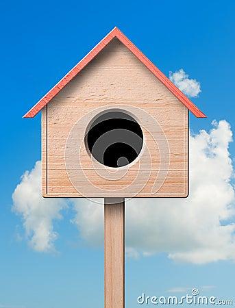 Free Bird House. Royalty Free Stock Image - 20759676