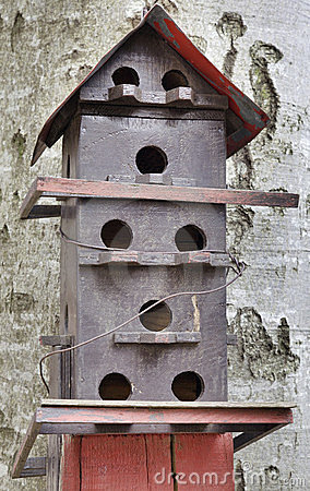 Free Bird House Stock Images - 24031044