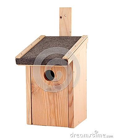 Free Bird House Royalty Free Stock Photo - 37621715