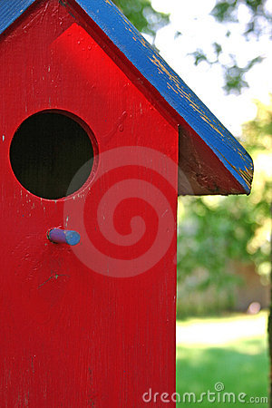 Free Bird House Royalty Free Stock Photo - 698245