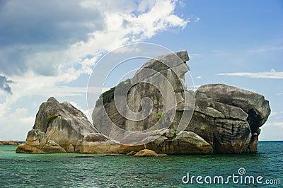 Bird island belitung indonesia landmark