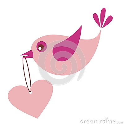 Bird in love