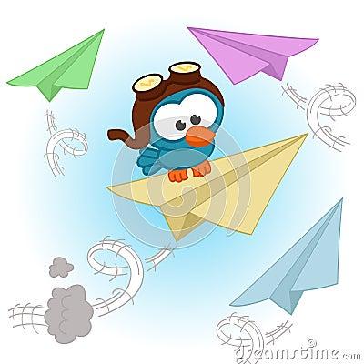 Free Bird Pilot Royalty Free Stock Image - 38792856