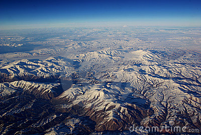 Bird s Eye the Snow Mountains