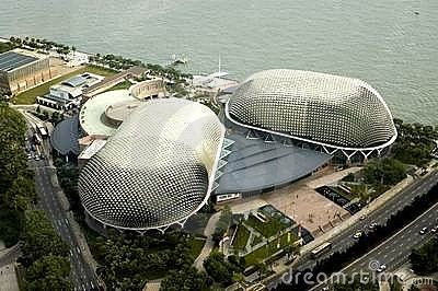Bird s eye view of Singapore