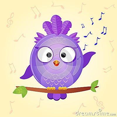 Bird sing