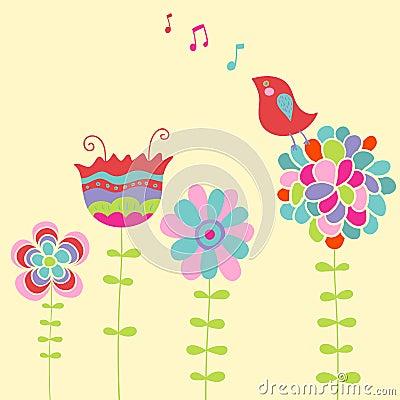Free Bird Singing Royalty Free Stock Photos - 8605478