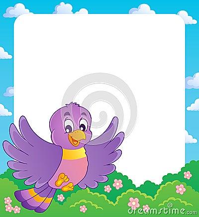 Bird theme frame