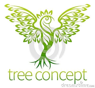 Free Bird Tree Concept Stock Image - 62081871