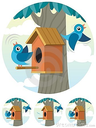 Free Birdhouse Royalty Free Stock Photo - 16489895