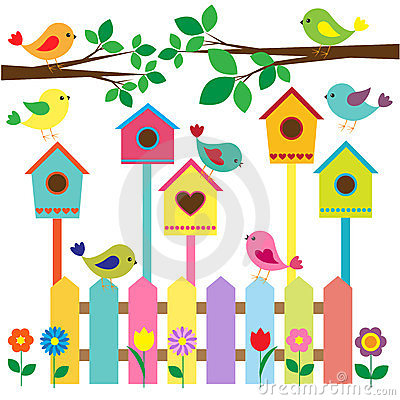 Free Birdhouses Stock Photography - 23768942