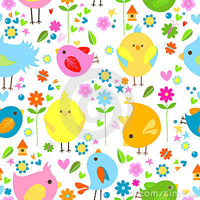 Birds background