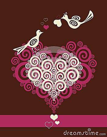Free Birds In Love Stock Image - 17510791