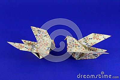 Birds origami