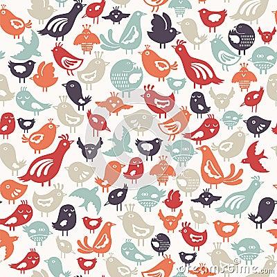 Free Birds Pattern Stock Image - 20791801
