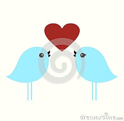 Free Birds With Love Stock Photos - 9518623