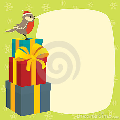 Birdy wishes Merry Christmas