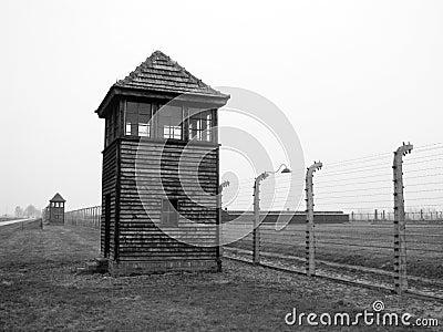 Birkenau auschvitz holocaust2 Editorial Stock Photo