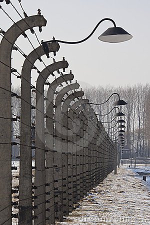 Birkenau Nazi Concentration Camp - Poland Editorial Photo
