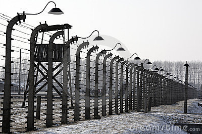 Birkenau Nazi Concentration Camp - Poland Editorial Photography