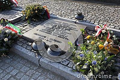 Birkenau Nazi Concentration Camp - Poland Editorial Stock Photo