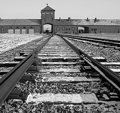 Birkenau Nazi Concentration Camp - Poland Editorial Image