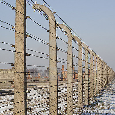 Birkenau Nazi Concentration Camp - Poland Editorial Photo