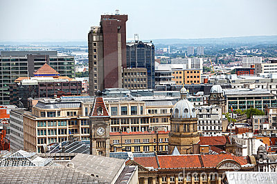 Birmingham England skyline