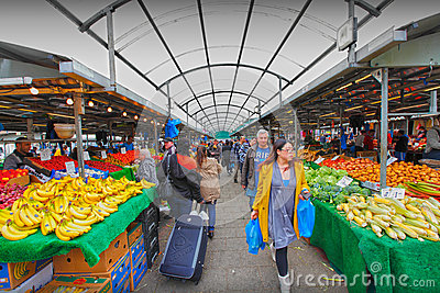 Birmingham rag market Editorial Photography