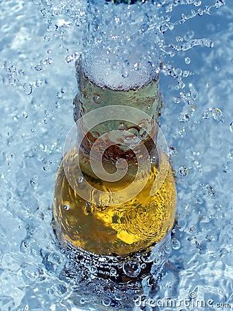 Birra di ghiaccio fresca
