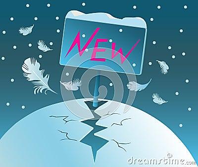 Birth of New. Beginning.