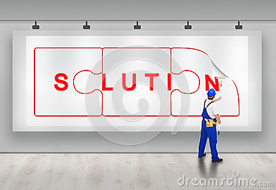 Birth of a solution