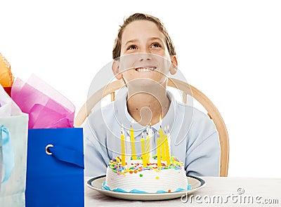 Birthday Boy Makes Wish
