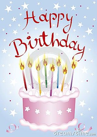 Free Birthday Cake Royalty Free Stock Image - 2448356