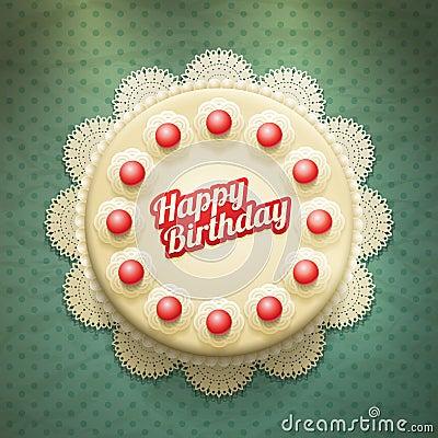 Free Birthday Cake Royalty Free Stock Photos - 33702338