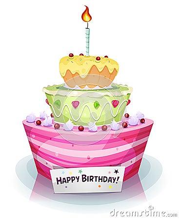 Free Birthday Cake Stock Photos - 38017693