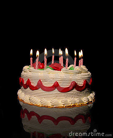 Free Birthday Cake Royalty Free Stock Photo - 396675