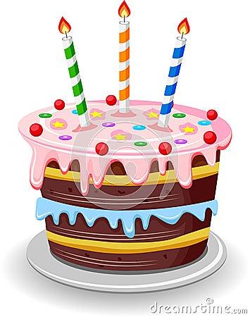Free Birthday Cake Stock Photo - 53179580