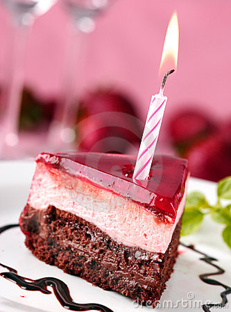 Free Birthday Cake Stock Image - 659301