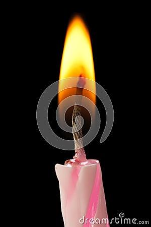 Free Birthday Cake Candle Stock Photo - 14553860